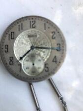 elgin vintage watch pendant necklace