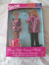 VINTAGE BARBIE DOLL FANCY FRILLS LINGERIE OUTFIT 1993 - MATTEL 10758/10762 - NEW