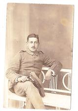 ALSACE photo soldat  14-18 Uniforme allemand