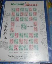 FRANCE ANNEE 2013 Feuille marianne de la jeunesse surchargée (25000ex) F4774B