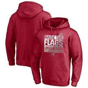 Tampa Bay Buccaneers Super Bowl LV Champions Parade Pullover Hoodie Red