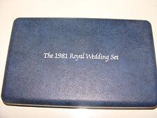 1981 Royal Wedding Set 6 Crown Coins Prince Charles Princess Diana