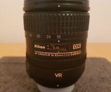 Nikon 16-85mm F/3.5-5.6 G VR AF-S NIKKOR ED DX Nikkor Zoom Lens
