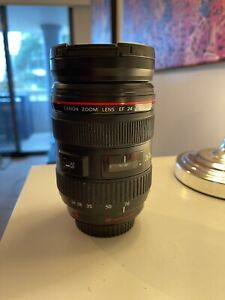 Canon 24-70mm EF 2.8 L lens (broken)