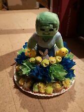 Easter bonnet Minecraft themed