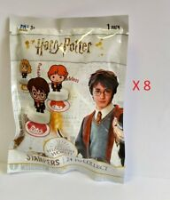 Harry Potter Stampers Lotto 8 Bustine Sigillate Timbrini Personaggi PMI