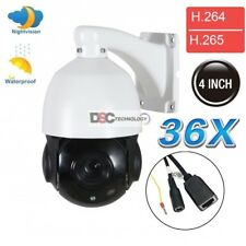 36X Zoom PTZ IP Camera 2MP PTZ Outdoor Security Network P2P IR Night 4.6~165.6mm