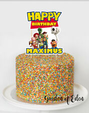 Magnificent Toy Story Cake Decorations In Cake Toppers For Sale Ebay Personalised Birthday Cards Fashionlily Jamesorg