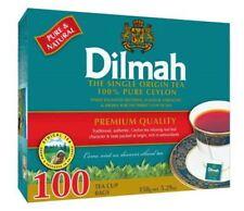 DILMAH Premium Black Tea 100 Tea Bags Box