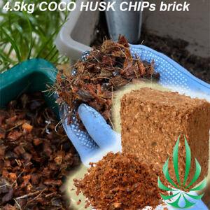 COCO Husk Chips Grow Media 4.5kg Low Salt Orchid Coconut Grow Medium Potting Mix