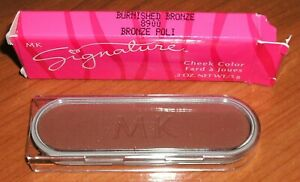 Mary Kay Signature Cheek Color BURNISHED BRONZE 8900 NIB Discontinued Old Stock