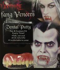 Vampire Dracula Teeth Custom Fixing Putty Veneers