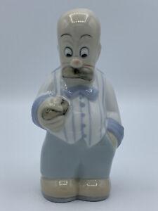 Vintage Royal Dux Sad Circus Man Figurine