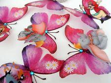 Disney Dumbo, Gift for girls Disney 3d Butterflies wall stickers