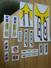 GT Power Series NOS OG 1.0 BOX Stays Decal Kit Dyno Haro Redline Hutch