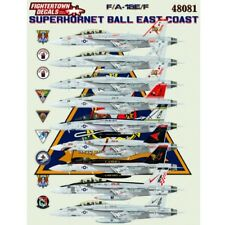 Fightertown 1/48 BOEING F/A-18E/F SUPER HORNET Ball-East Coast # 48081