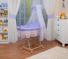 WALDIN bébé Chariot enfants XXL ,couchette bébé NEUF Lila/Blanc