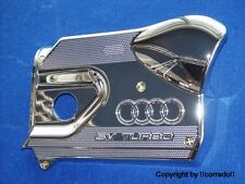 ">verchromt< Audi A3_1,8T Motor-Abdeckung chrom-bedampft verspiegelt ""chrom"""