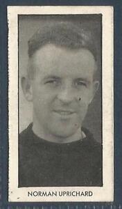 D C THOMSON-WORLD CUP FOOTBALLERS-1958-#02-PORTSMOUTH/N IRELAND-NORMAN UPRICHARD