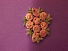 Lilac Clustered Rose Bud Embroidery Applique Patch Emblem Lot (42 Dozen)