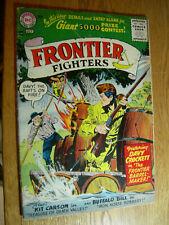 Frontier Fighters #7 VG- Davy Crockett and the barrel maker