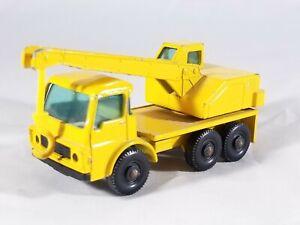 Matchbox Lesney #63 Dodge Crane Truck - Yellow Body & Hook