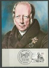 Germany Berlin Maximum Card 1985 Philologist Wilhelm von Humboldt