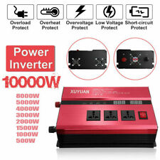 3000W~10000W Car Power Inverter 12/24V To 110/220V Modified Sine Wave Converter
