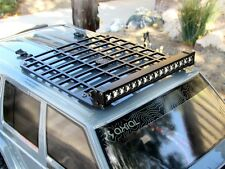 Gear Head RC 1/10 Scale Jeep XJ Slim Line Roof Rack with Light Bar Mount GEA1364