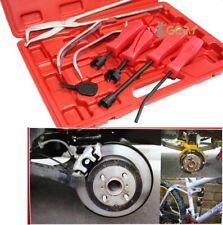 8PC Brake Service Tool Set SPRING INSTALLER REMOVER PLIERS & Adjustment Spoon