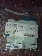 25x MURATA DE2E3KH102MA3B .001uF 20% 250VAC X1/Y2 CERAMIC SUPPRESSION CAPACITORS