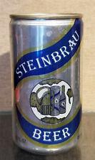 Bottom Open Aluminum Steinbrau Stay Tab Beer Can Florida Brewing Auburndale Fl