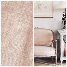 SALE! Designer Velvet Chenille Fabric - Antique Pink - Upholstery
