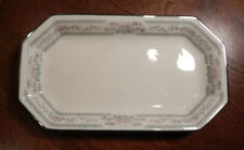 """Lenox """"Charleston"""" Pattern Butter Tray 7 1/2"""" Excellent 2nd Quality Stamp"""