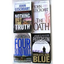 PATTERSON & LESCROART Lot of 4 Books (PB) Violets, Blind Mice, Oath, Nothing But