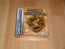 DUNGEONS&DRAGONS EYE OF THE BEHOLDER PARA LA NINTENDO GAME BOY ADVANCE GBA NUEVO