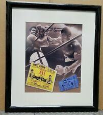 Muhammad Ali and Ken Norton Custom Framed Boxing Photo Signed Ken Norton