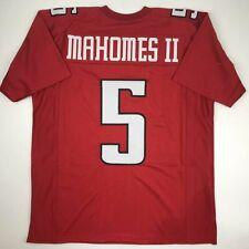 a4f0b711089 New PATRICK MAHOMES II Texas Tech Red Custom Stitched College Football  Jersey XL