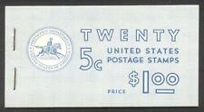 U.S. #Bk111 Booklet - 1963 5c Washington ($110)