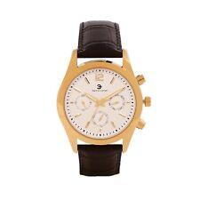 Ashton Carter Multi Function Gold / Black Watch - AC-1011-A- 2 Year MANUF WRNTY