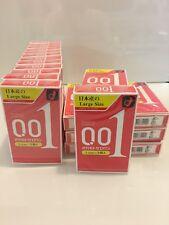 Okamoto0.01 L size 3's Pack Condoms