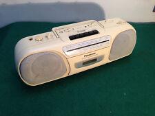 Panasonic 'crema' RX-FS430 Estéreo Radio cassette grabador, Boombox,