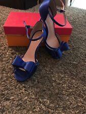 Kate spade cobalt high heels 6.5