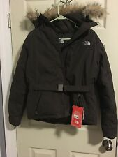 NWT The Northface Woman Coat Dark Brown Size S