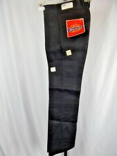 Nos Vintage Dickies Deadstock Black Trousers Slacks Retro Kids Pants Boys 12Slim