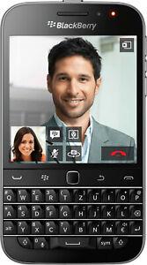 RIM BlackBerry Classic Schwarz mit QWERTY Tastatur