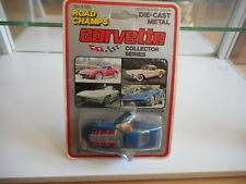 Road Champs Corvette in Blue on Blister