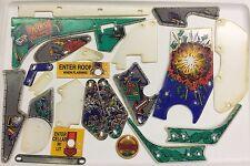 Safe Cracker Pinball Machine Playfield Complete Plastic Set - New