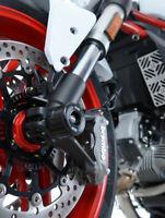 R&G Racing Fork Protectors for Ducati Multistrada 1260 D-AIR 2018-2019 FP0175BK