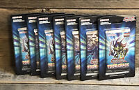 Yu-Gi-Oh Toon Chaos 1st Edition Cards Lot of (7) Packs with (7) Cards Per Pack